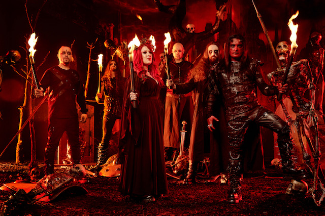 Cradle of Filth promo image.